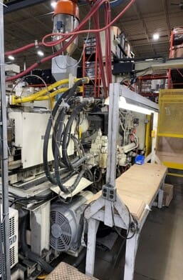 Used 500 Ton Toshiba ISGS500S10-27B Injection Molding Machine 1 Used 500 Ton Toshiba ISGS500S10-27B