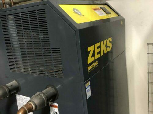 used zeks 500hsfa400 hot air dryer