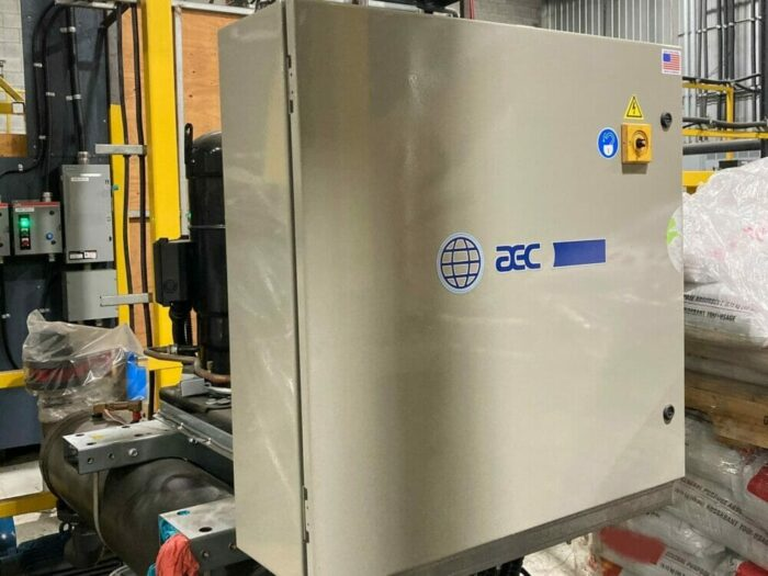 Used 44 Ton AEC GCWC-140 Central Water Chiller