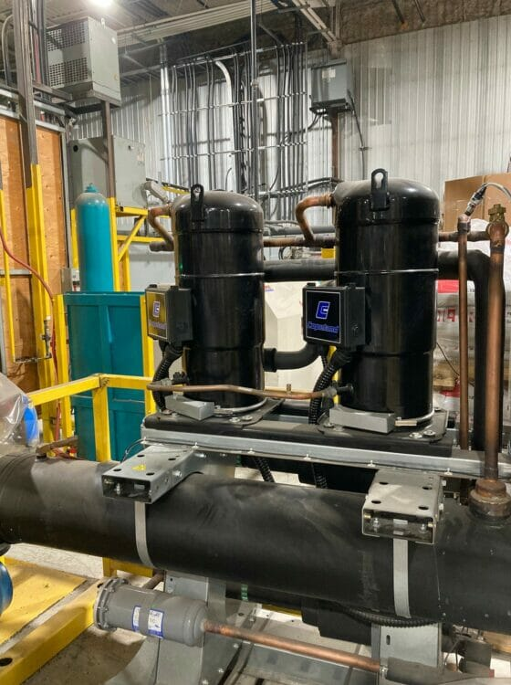 Used 140 Ton AEC GCWC-140 Central Water Chiller
