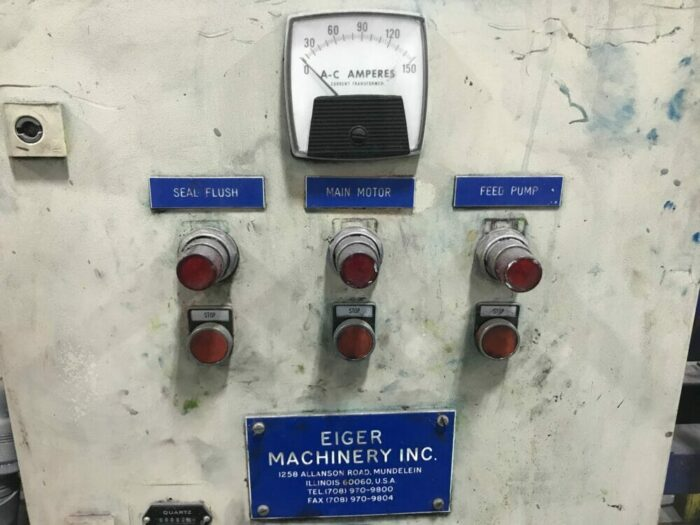 30 hp horizontal eiger media mill