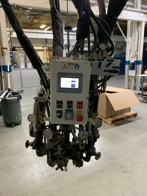 Used ESCO B-30-5FG Low Pressure Metering and Dispensing Machine 1 Used ESCO B-30-5FG