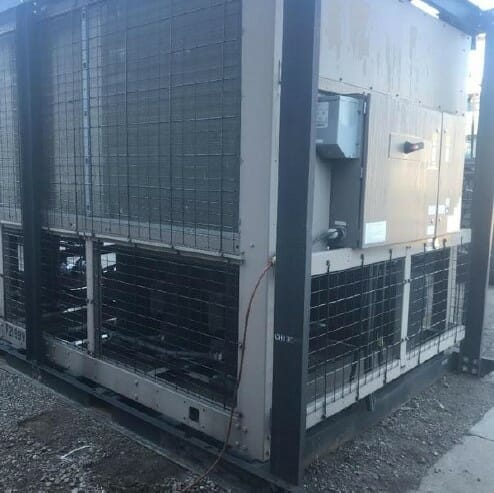 used 100 ton chiller