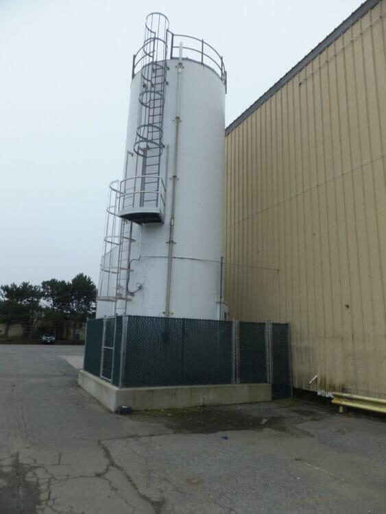 used 12' x 36' resin silo