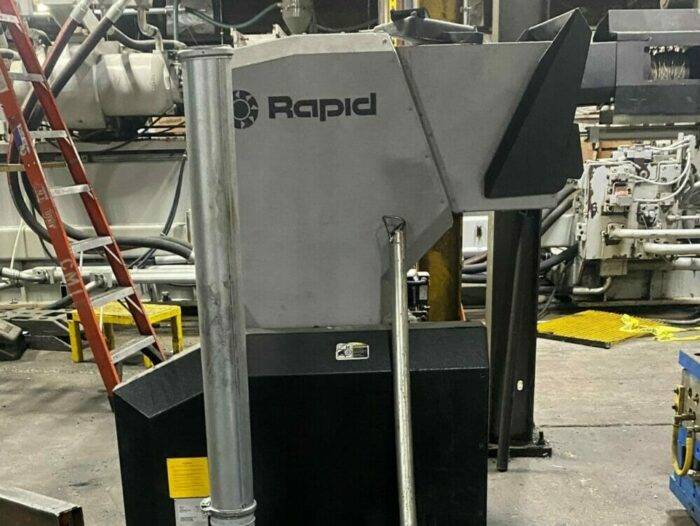 Used 10 HP Rapid 300-45 Grinder w/ Blower Cyclone