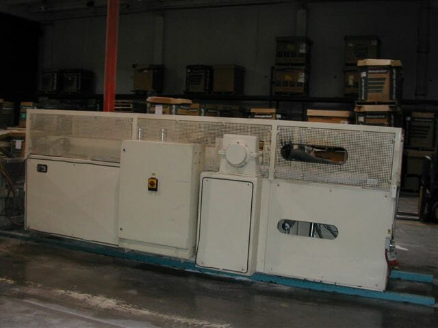used uniplast model urz 3000 haul-off