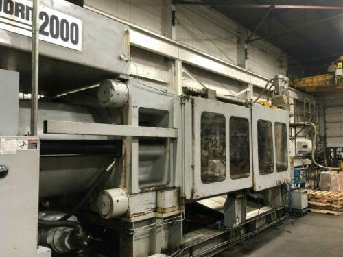 Used 2000 Ton HP Van Dorn Injection Molding Machine