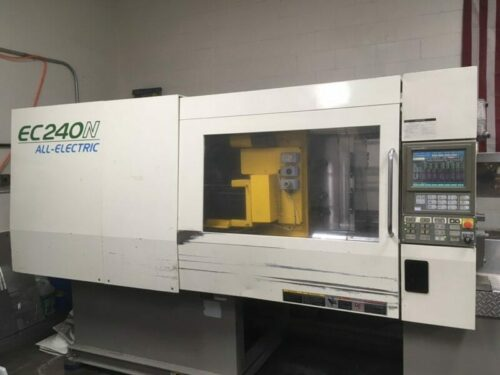 Used 240 Ton Toshiba EC All Electric Injection Molding Machine