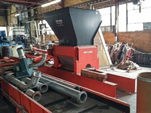 used 50 hp weima zmk 50 quad shaft shredder