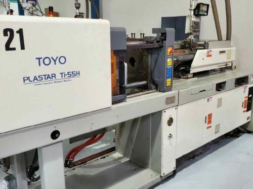 used 55 ton toyo ti-55h injection molding machine