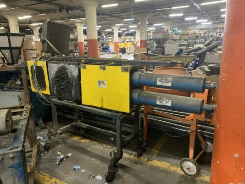 """Used 9"""" Polymer Systems Continuous Backflushing Screen Changer"""