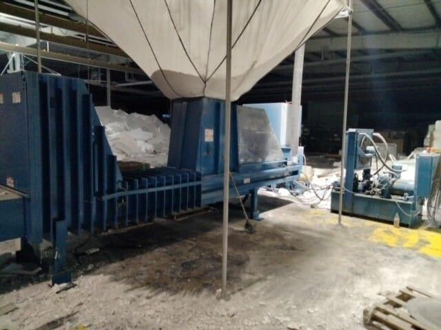 Used Seabright Model D120 Cold Press Machine