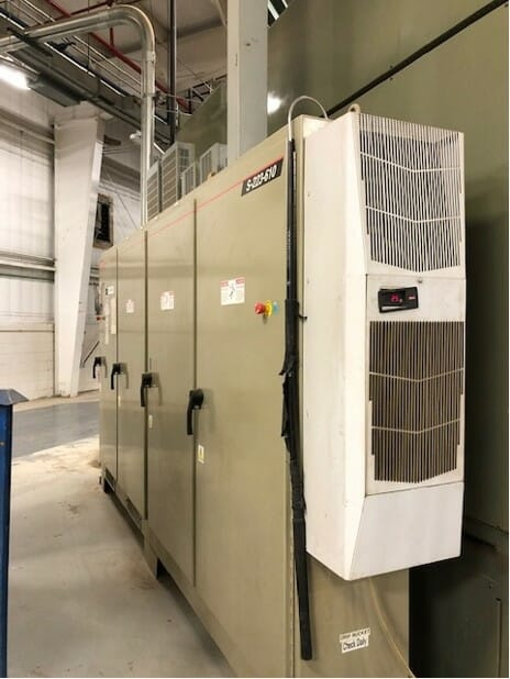 Used Brown S-223-610 Single Station Thermoformer