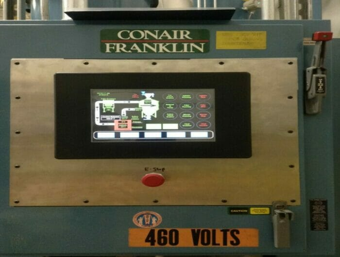 Used Conair Crystallizer System