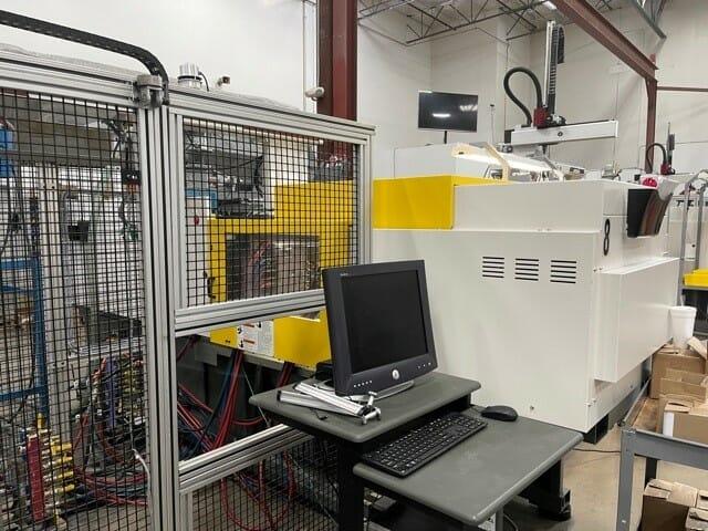 Used 138 Ton Roboshot S-100iA Injection Molding Machine