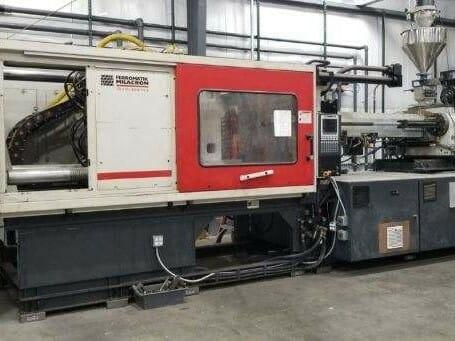 Used 550 Ton Milacron Injection Molding Machine