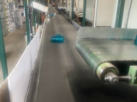 Used 76' Hytrol Conveyor