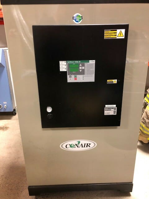 Used 7.5 Ton Conair ECW 7.5 Water Cooled Chiller