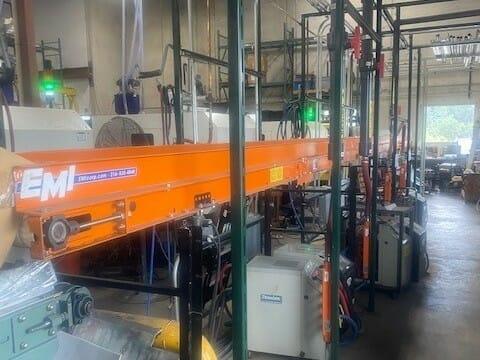 Used 33' Long EMI RM-24-34-20 Conveyor