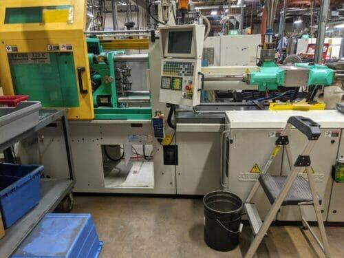 Used 77 Ton Arburg 320KS700-250 Injection Molding Machine
