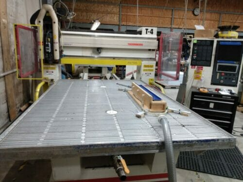 Used 3-Axis Thermwood C40 CNC Router